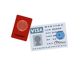 外国人のビザの申請